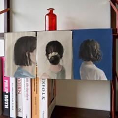 미니 포스터 / 패브릭 포스터_lonely (4종세트)