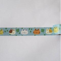smalllittlepiece Masking tape 04 Clover cat