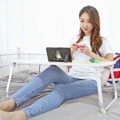 줌 재택근무 필수 접이식 노트북테이블 베드트레이 S5