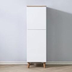 [에띠안]로라 에어프라이어 냉장고옆 주방 수납장 400 틈새장 2색상