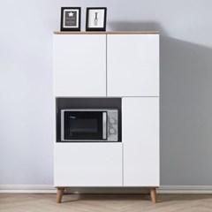 [에띠안]로라 에어프라이어 냉장고옆 주방 수납장 800 렌지대 2색상