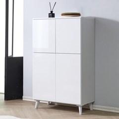 [에띠안]로라 에어프라이어 냉장고옆 주방 틈새장 800 수납장 2색상