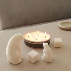 수딩플레이스 북극곰비누 친환경 천연비누 방향제 디퓨저 집들이선물