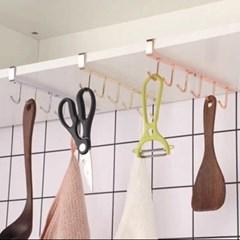 리빙웍스 골드 클립형 도구 걸이대 컵걸이  다용도 수납