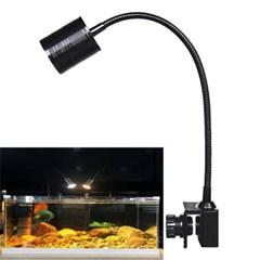 집게식 어항 램프 LED등 수족관 조명 수조등 바이스 J