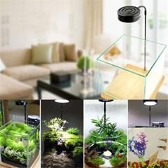 소형 어항 미니 수족관 LED 램프 조명 수조등 수초등 J