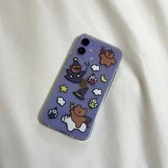 마법사 곰돌이 젤리케이스(아이폰)