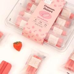 오마이스푼 랑떡 딸기맛 35g x 8개입 / 온가족 디저트 카스테라떡