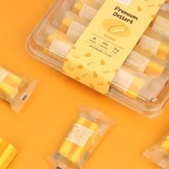 오마이스푼 랑떡 치즈맛 35g x 8개입 / 온가족 디저트 카스테라떡