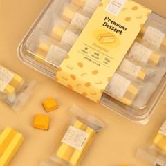 오마이스푼 랑떡 호박맛 35g x 8개입 / 온가족 디저트 카스테라떡