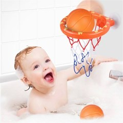 유아 아기 목욕 놀이 농구 장난감 물놀이 완구 J
