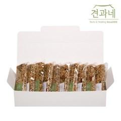 [견과네] 국산현미로 고소한 수제 현미바 선물세트 23g 10개입