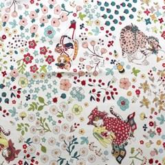 [Fabric] 고양이 라떼 코튼