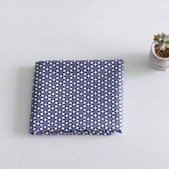 [Fabric] 블루 모스크  패턴 코튼