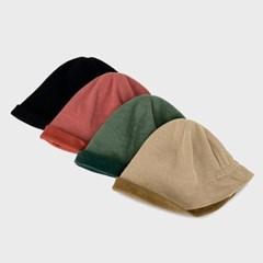 여성 골덴 뒷밴딩 벙거지 버킷햇 모자