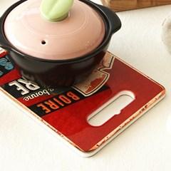 비어일러스트 세라믹 냄비받침 (2color)