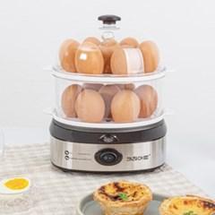 만능찜기 2단 반숙 계란 에그 만두 호빵 미니 고구마 단호박찜기