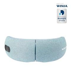 위니아 무선 접이식 눈안마기 공기압 온열 눈마사지기 WMEMG01EGIN