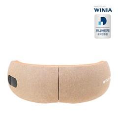 위니아 무선 접이식 눈안마기 공기압 온열 눈마사지기 WMEMG01EGCC