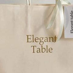 앨리건트테이블 선물용쇼핑백& 포장키트 (집들이 친구선물)