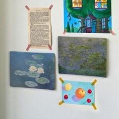 미니 포스터 / 패브릭 포스터_Claude Monet/모네 A (4종세트)