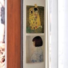 미니 포스터 / 패브릭 포스터_Gustav Klimt/클림트 A (4종세트)
