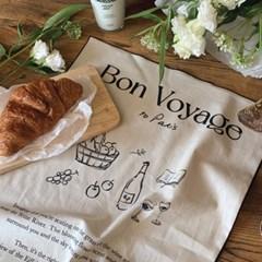 Fabric poster [ Bon voyage ]