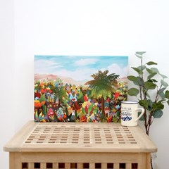 캔버스 액자 - 환타스틱 정글