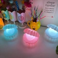 진주 조개 LED 무드등