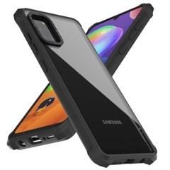 모란카노 갤럭시 A31 임팩트 제로 범퍼 휴대폰 케이스