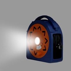 4구 전기릴선 15m 전기연장선 캠핑릴선 LED후레쉬내장 멀티탭 전선