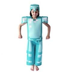할로윈 데이 마인크래프트 아동 어린이 의상 코스프레 J