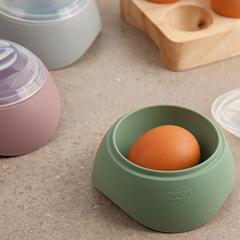 계란 반숙기 실리콘 달걀 에그쿠커 전자레인지 완숙 반숙 메이커 SH0
