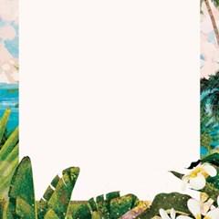 여름 안에서 일러스트 엽서