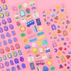 트윙클 My Tiny Things 칼선 스티커