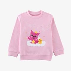 핑크퐁 아기상어 유아동 맨투맨 티셔츠