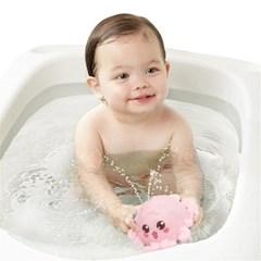 유아 아기 분수 문어 목욕 놀이 물놀이 장난감  H
