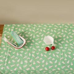 [Fabric] 와일드플라워 - 호핑 레빗 패턴 코튼