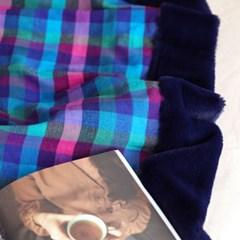 극세사 벨보아 대형 담요 블랭킷 싱글 아이리스 (144x200)