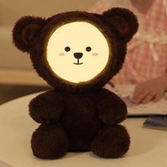 DIY 표정 토끼 곰 인형 무드등 블루투스 스피커