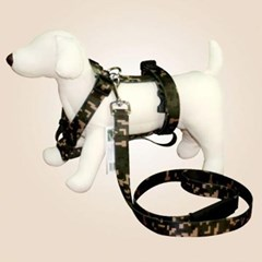 강아지 목줄 리드줄 쏘아베 대형견가슴줄세트 25mm