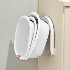 욕실 벽걸이 세숫 대야 거치대 튼튼 폴딩 대야걸이