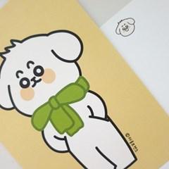 [마을프렌즈] 댕댕이 엽서