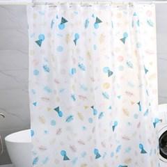 프레시스 PEVA 안티곰팡이 욕실 샤워 커튼