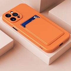 갤럭시A52 5G(A526) 베이직 컬러 카드 슬롯 케이스