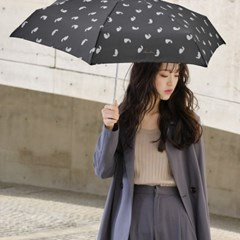 wpc우산 캣츠 미니 5단 양산 겸 우산 7409-171