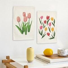 미니 포스터 / 패브릭 포스터_tulip/튤립 (4종세트)