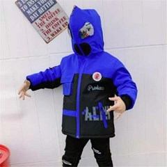 풀집업 스파이더맨 아동 양면 후드집업 자켓 바람막이 J