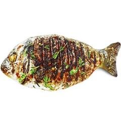 조기 생선 쿠션 60cm 대형 음식 베개
