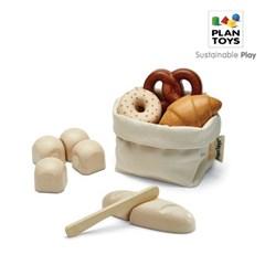 플랜토이즈 원목장난감 주방놀이 프랑스 빵 세트 3628